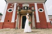 Svadobné šaty - lesná víla, 36