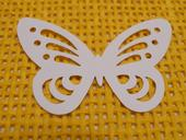 Motýli - samolepky / konfety,