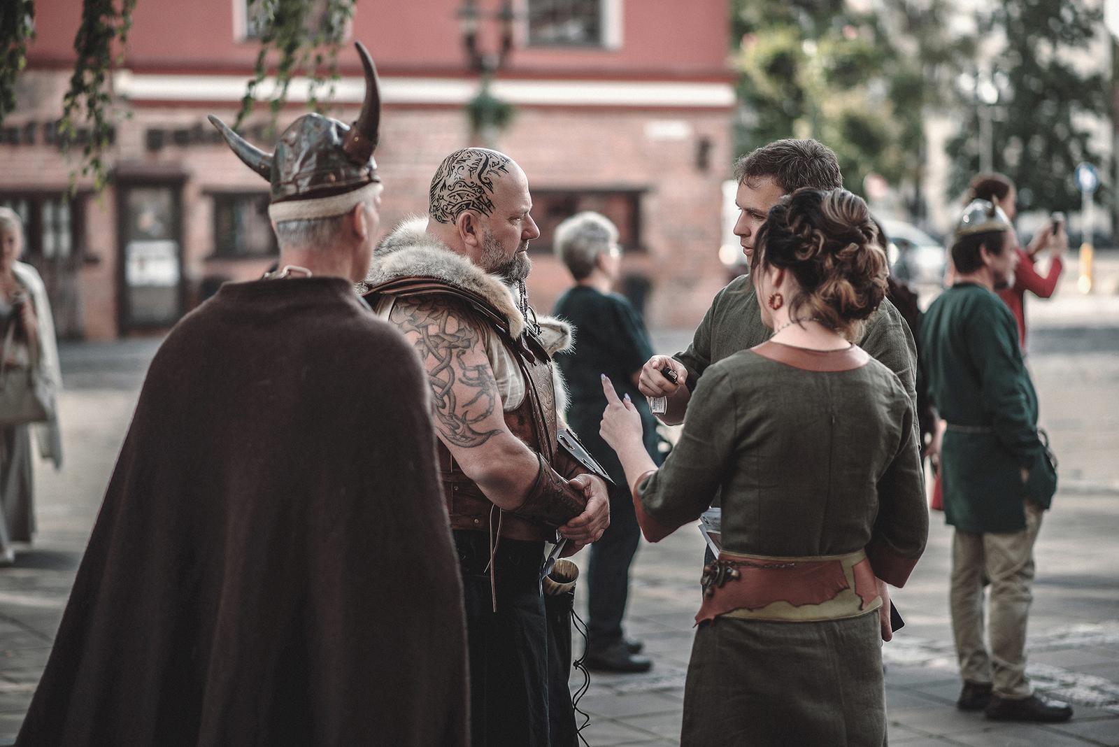 Svadba inšpirovaná seriálom Vikingovia - Obrázok č. 1