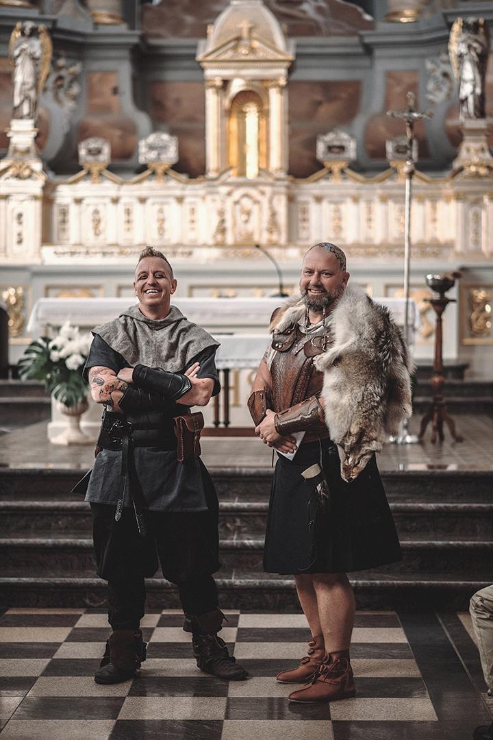 Svadba inšpirovaná seriálom Vikingovia - Obrázok č. 5