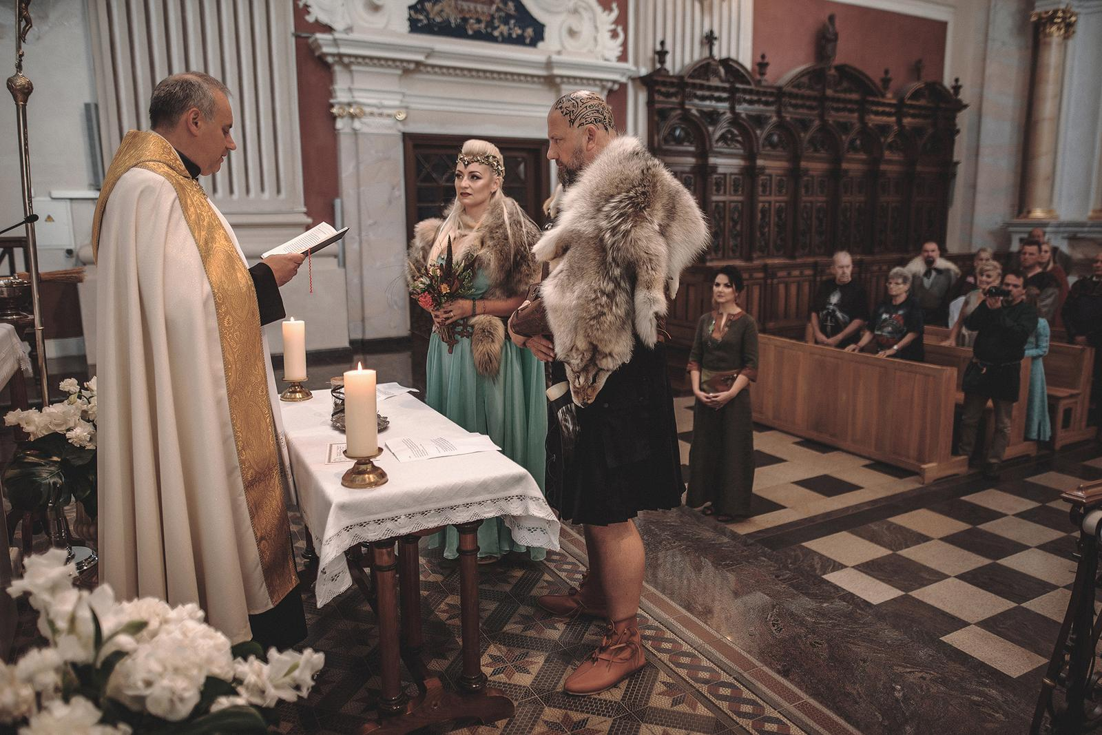 Svadba inšpirovaná seriálom Vikingovia - Obrázok č. 9