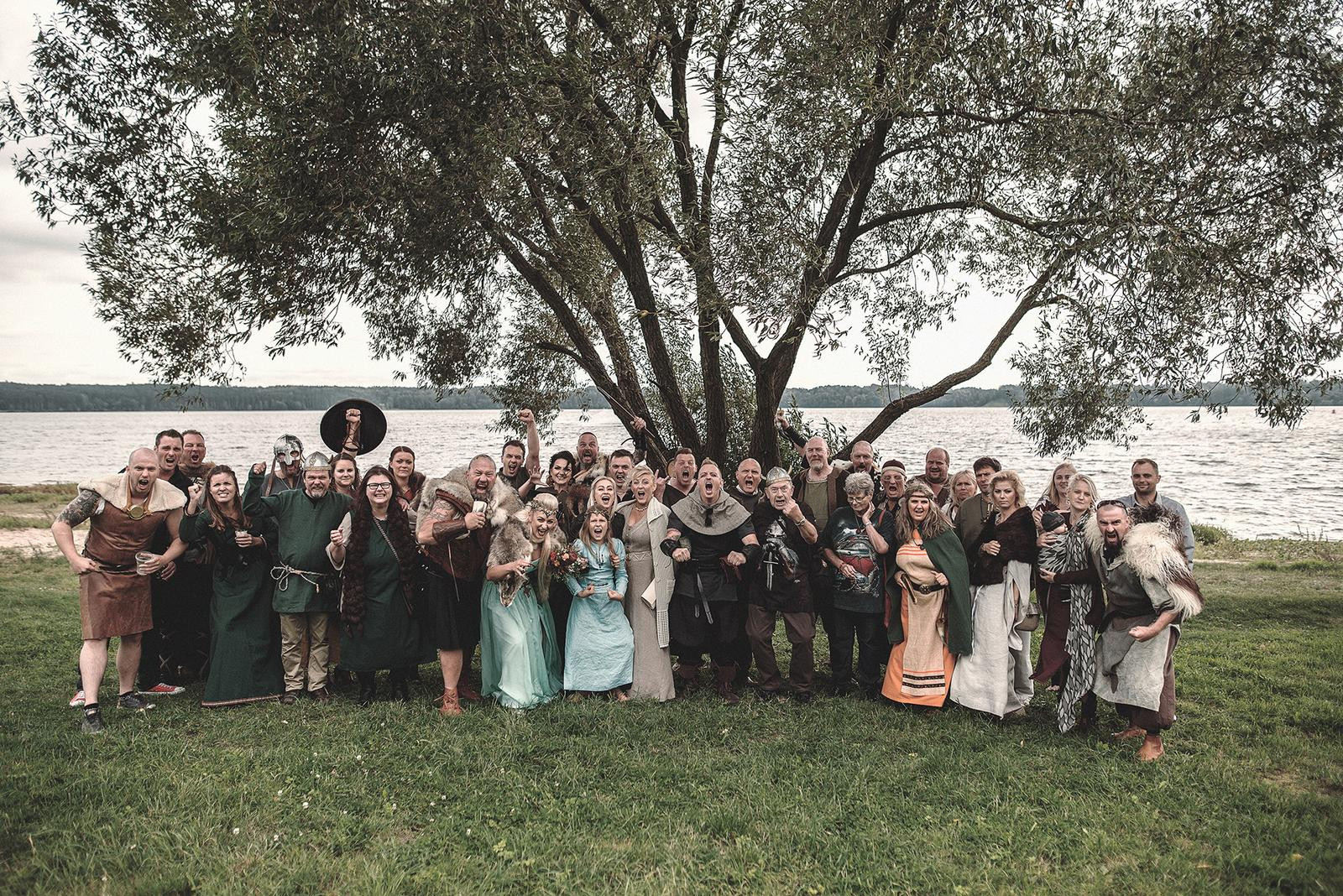Svadba inšpirovaná seriálom Vikingovia - Obrázok č. 19