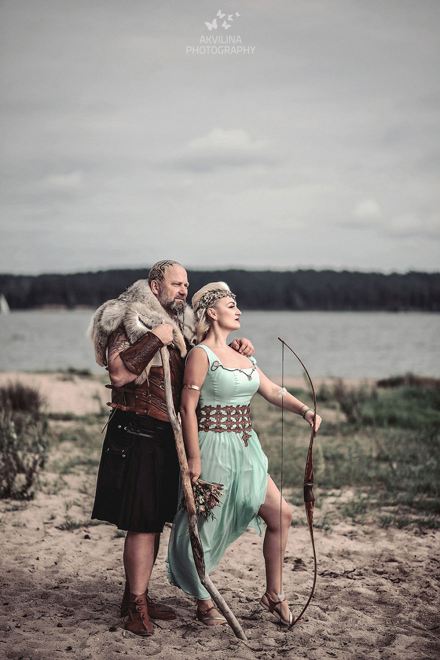 Svadba inšpirovaná seriálom Vikingovia - Obrázok č. 20