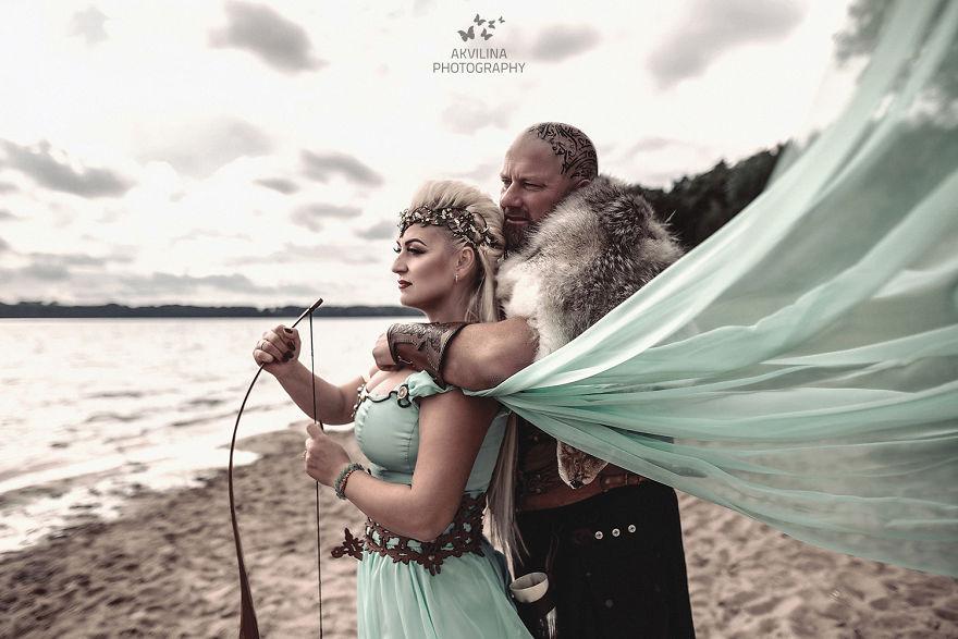 Svadba inšpirovaná seriálom Vikingovia - Obrázok č. 21