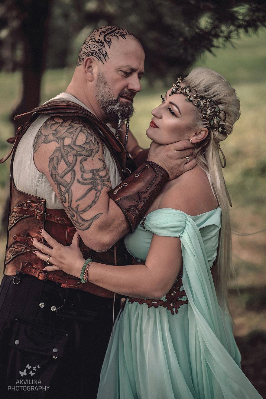 Svadba inšpirovaná seriálom Vikingovia - Obrázok č. 23