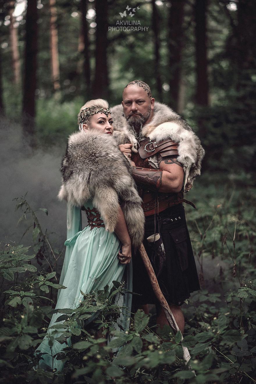 Svadba inšpirovaná seriálom Vikingovia - Obrázok č. 24