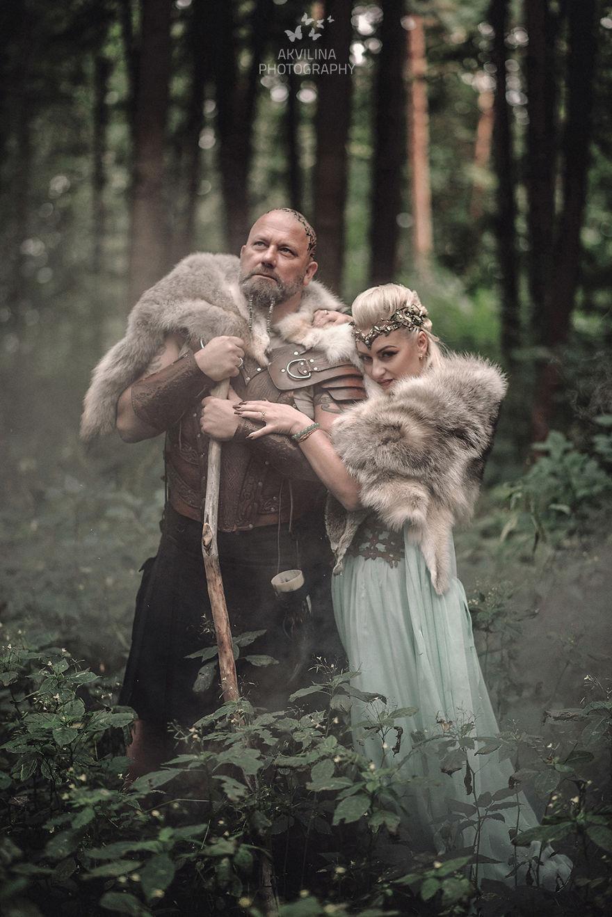 Svadba inšpirovaná seriálom Vikingovia - Obrázok č. 25