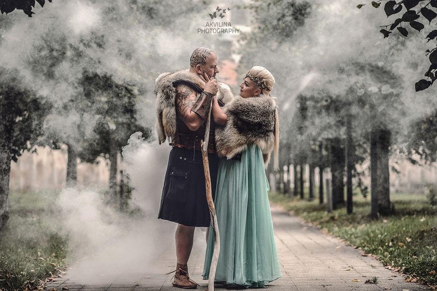Svadba inšpirovaná seriálom Vikingovia - Obrázok č. 29