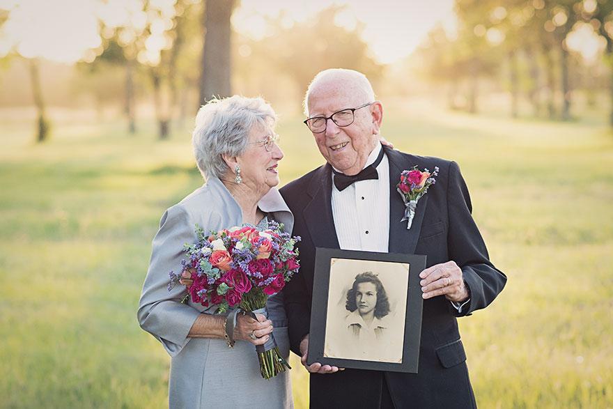 Táto dvojica čakala na svoje svadobné fotky 70 rokov - Obrázok č. 4
