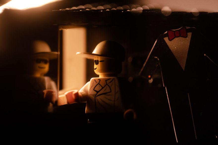 Fotograf počas pandémie vytvoril svadobné fotky vďaka stavebnici LEGO - Obrázok č. 3