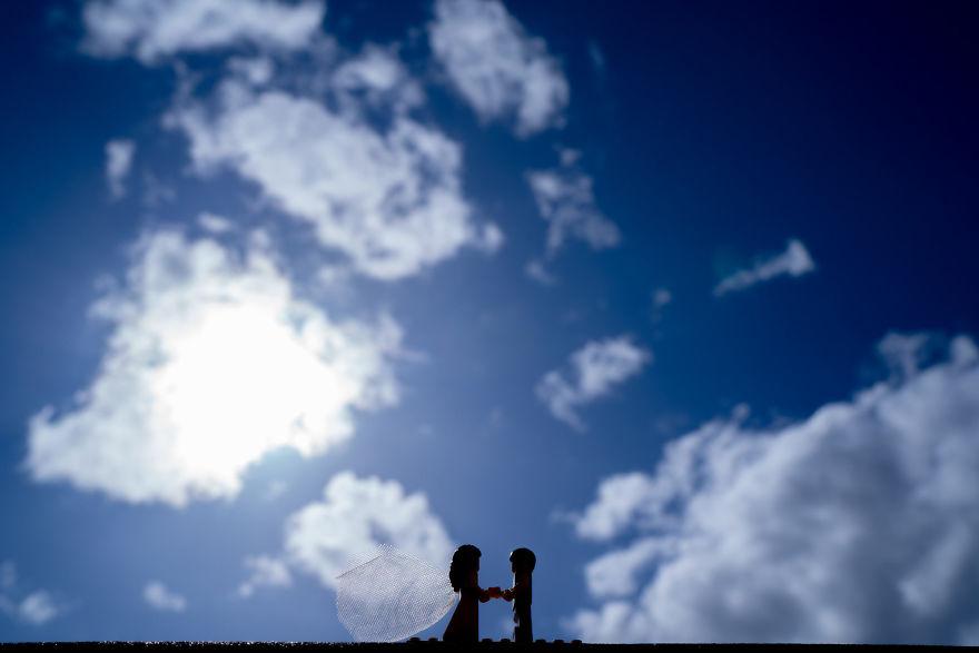 Fotograf počas pandémie vytvoril svadobné fotky vďaka stavebnici LEGO - Obrázok č. 6