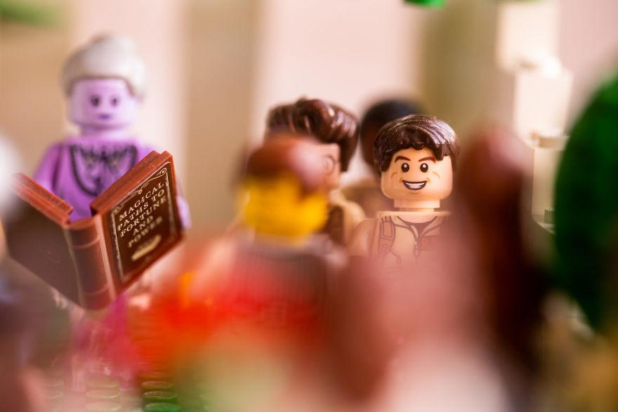 Fotograf počas pandémie vytvoril svadobné fotky vďaka stavebnici LEGO - Obrázok č. 9