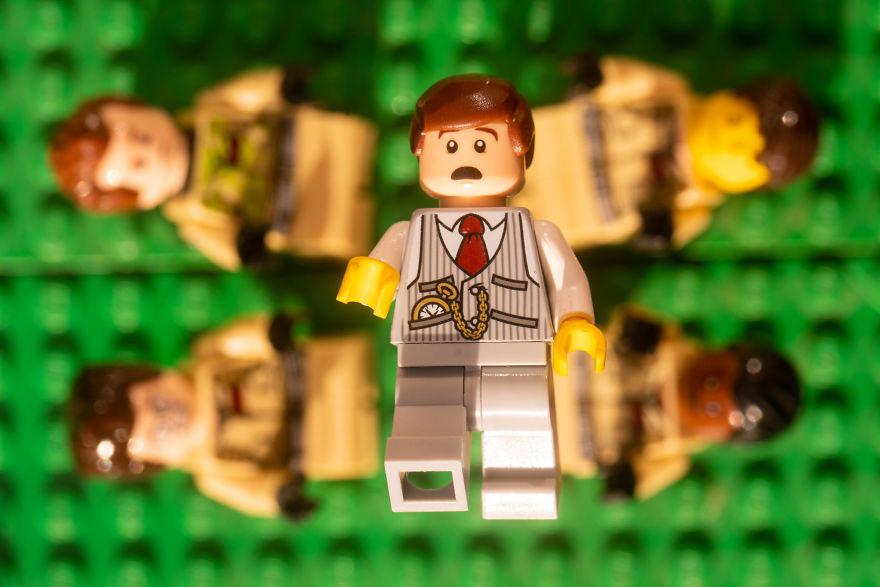 Fotograf počas pandémie vytvoril svadobné fotky vďaka stavebnici LEGO - Obrázok č. 14