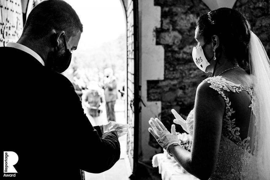 25 najlepších svadobných fotografií zachytených počas pandémie - Obrázok č. 6