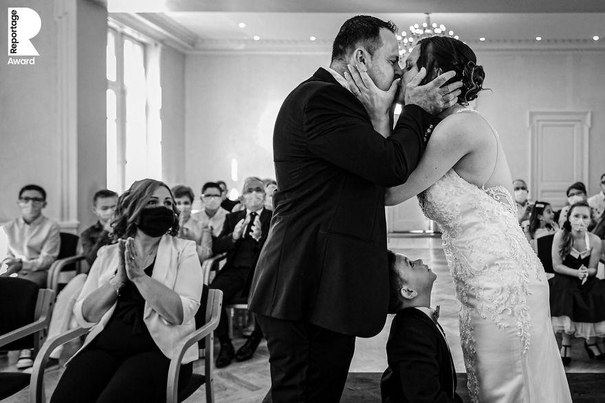25 najlepších svadobných fotografií zachytených počas pandémie - Obrázok č. 20