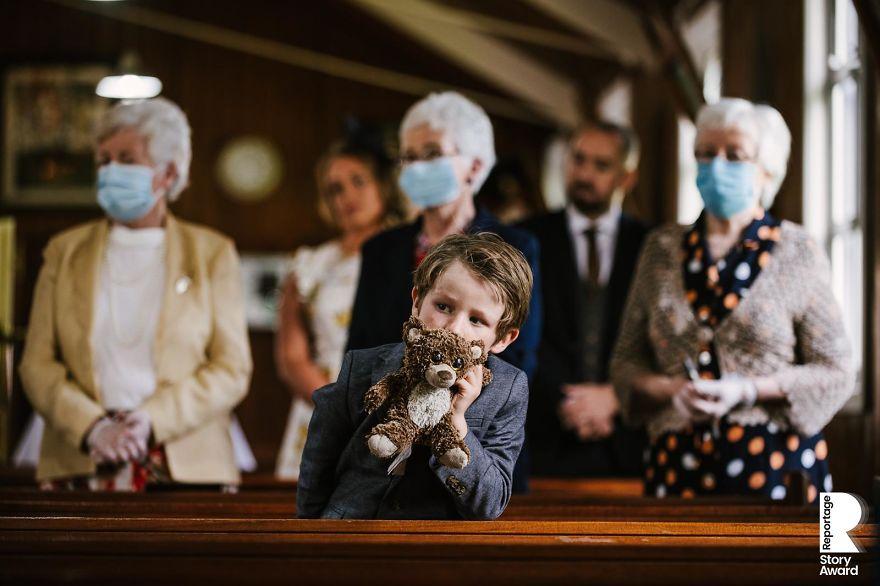 25 najlepších svadobných fotografií zachytených počas pandémie - Obrázok č. 18