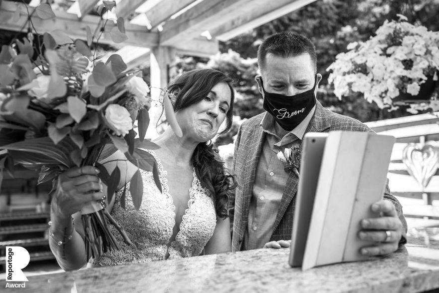 25 najlepších svadobných fotografií zachytených počas pandémie - Obrázok č. 13