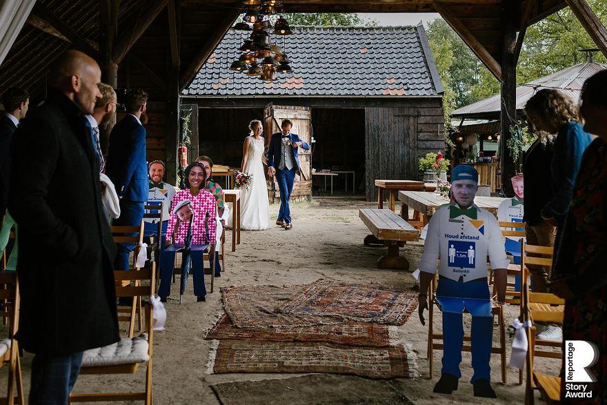 25 najlepších svadobných fotografií zachytených počas pandémie - Obrázok č. 7