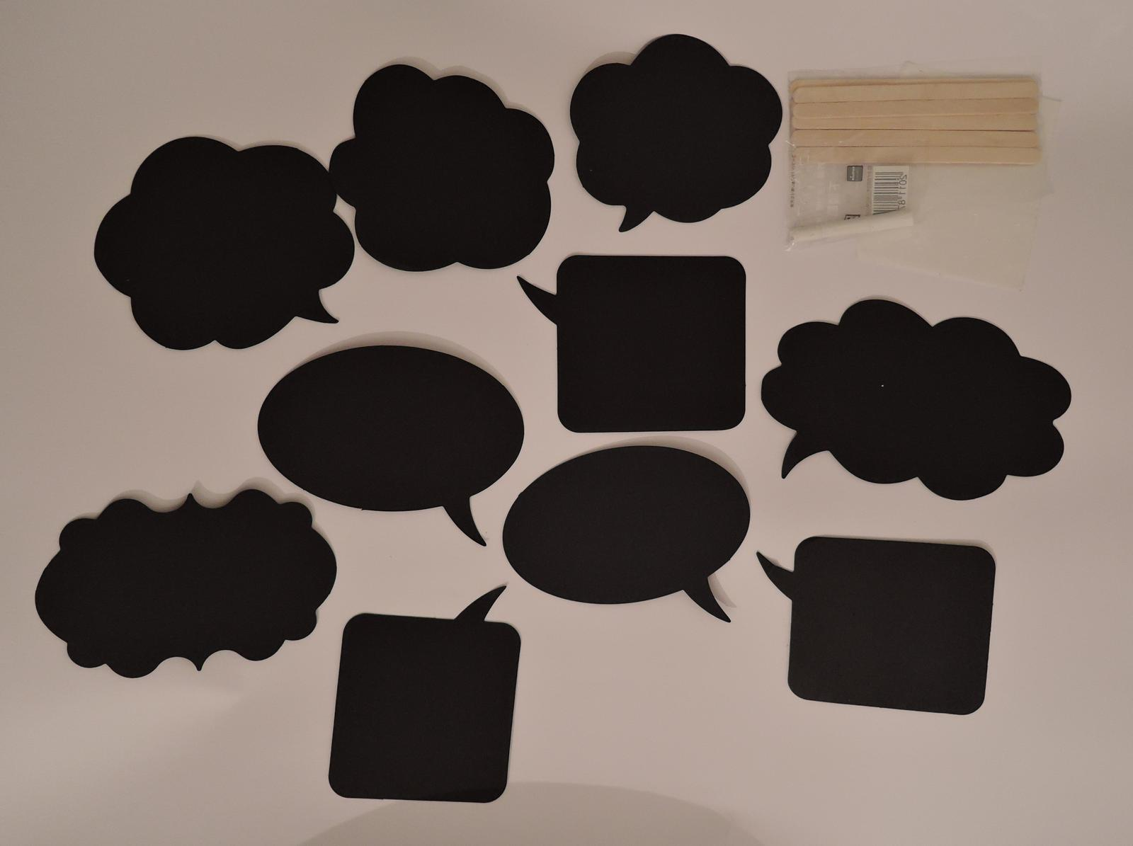 tabulky (cedulky) do fotokoutku - Obrázek č. 1