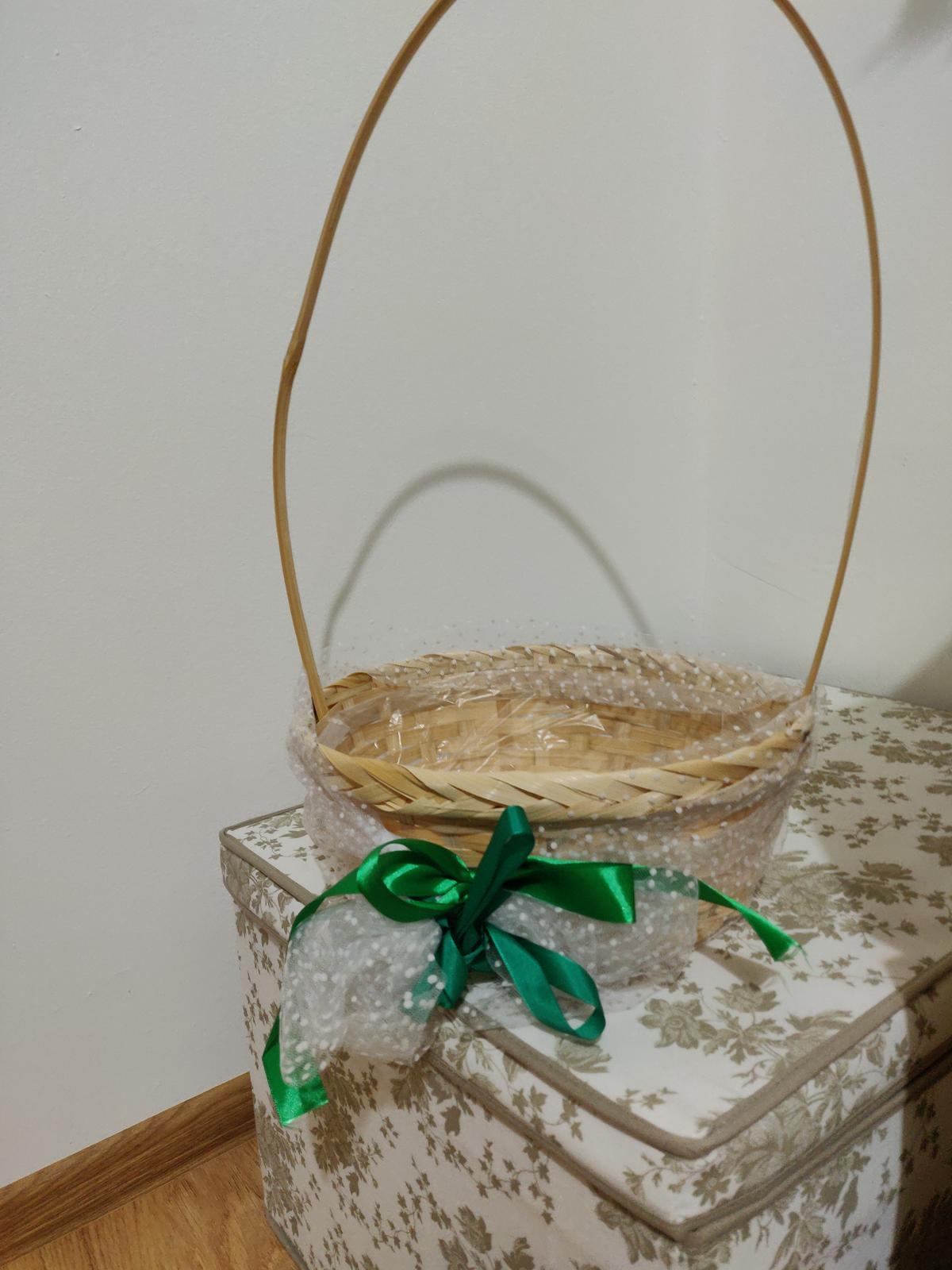 Kosicek na konfeti - skvele pro male druzicky - Obrázek č. 1