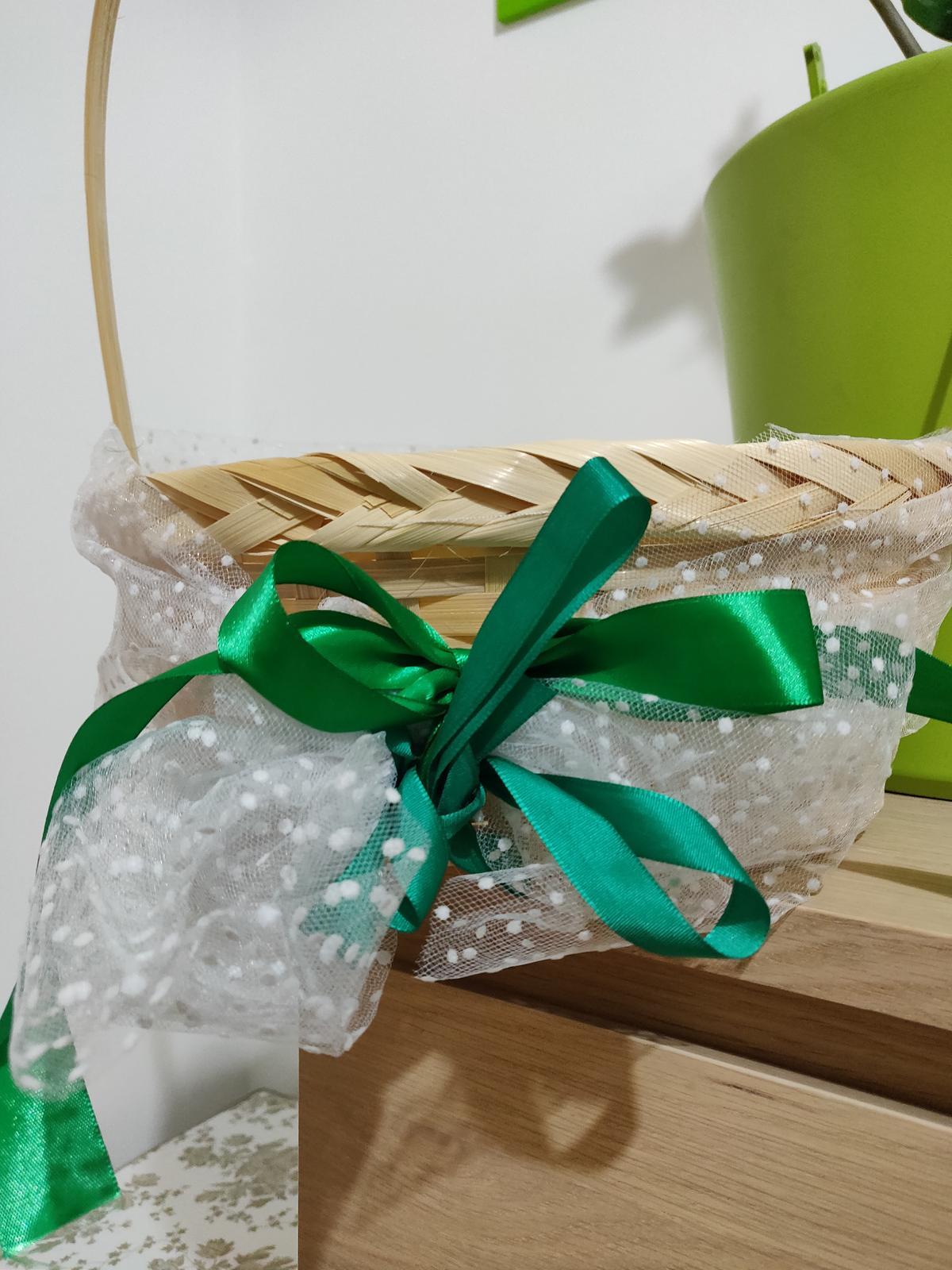 Kosicek na konfeti - skvele pro male druzicky - Obrázek č. 2