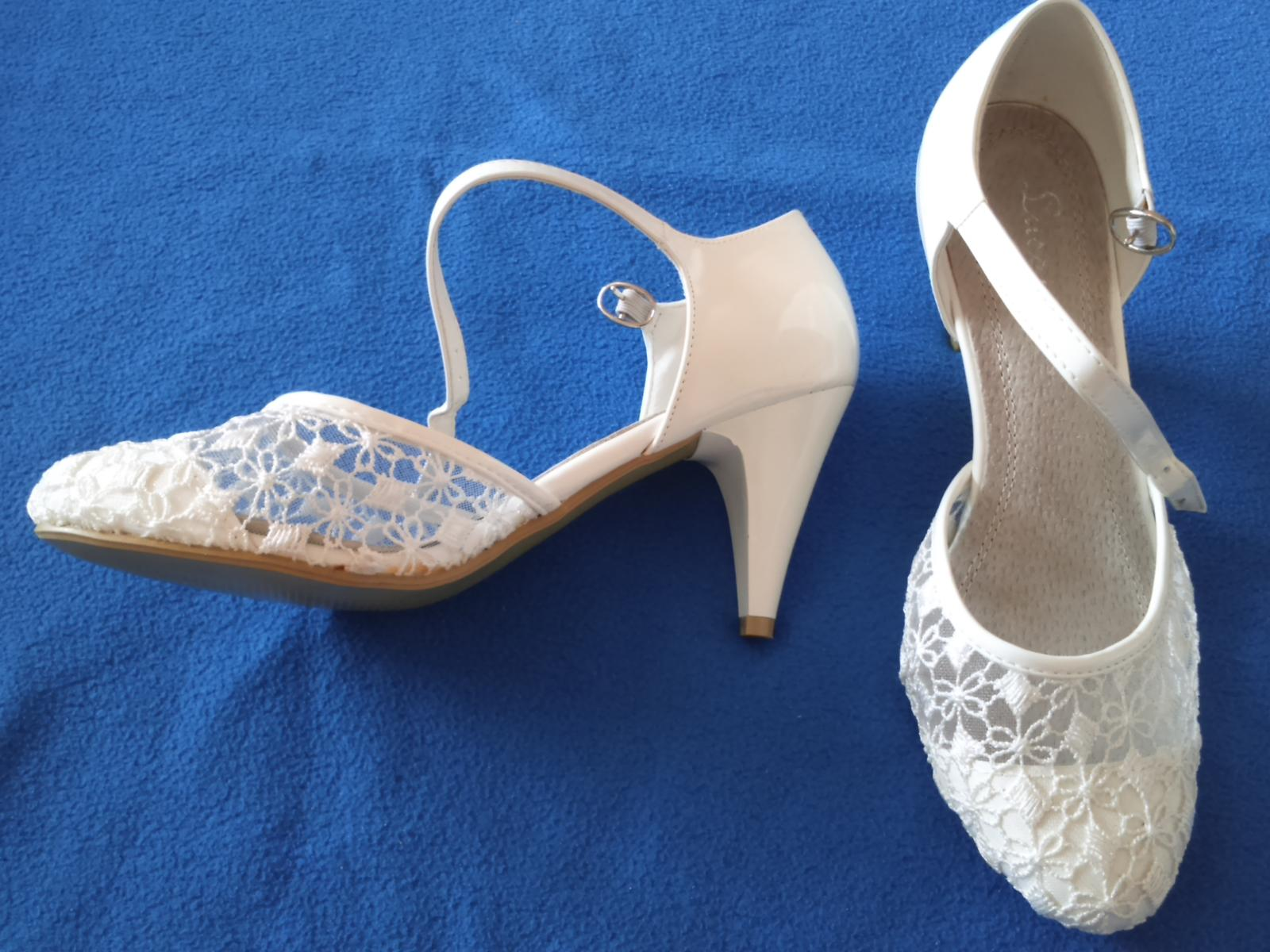 Biele sandálky - Obrázok č. 1