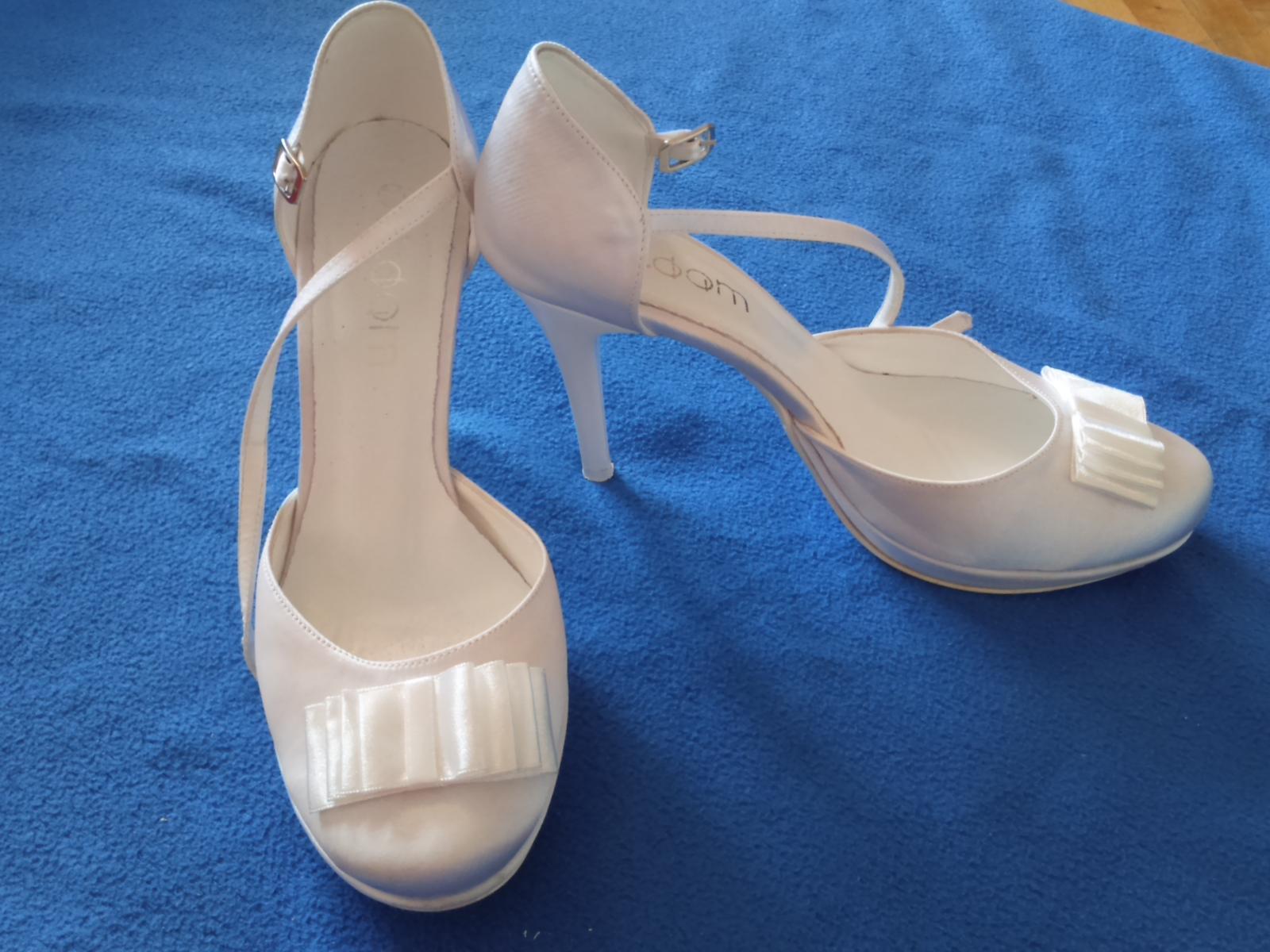 Svadobné topánky butdam - Obrázok č. 1