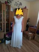 Svatební večerní šaty vel40-42, 42