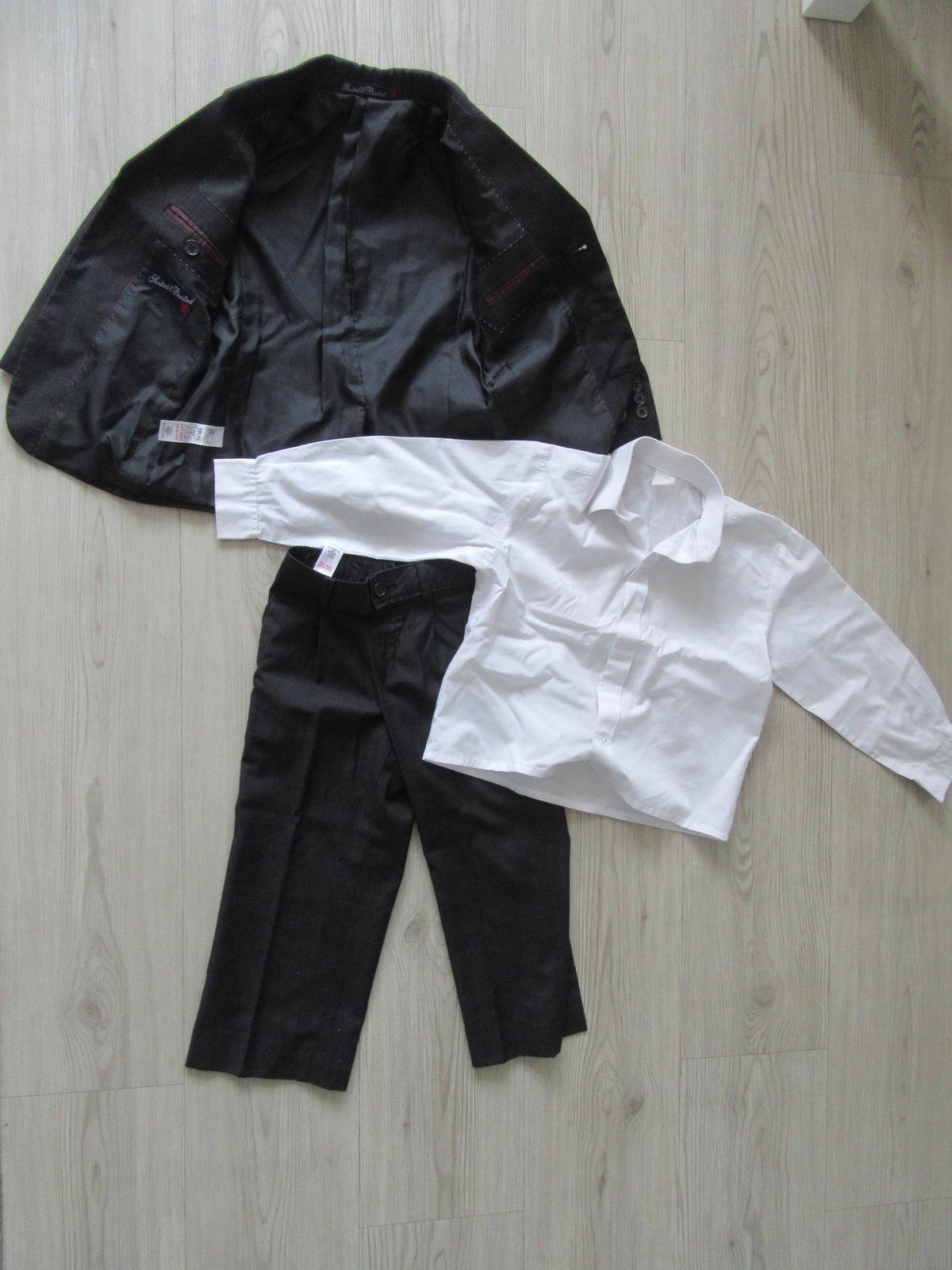 Dětský oblek a boty vel 98 - Obrázek č. 3