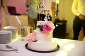 Figúrka plus kvety na tortu,