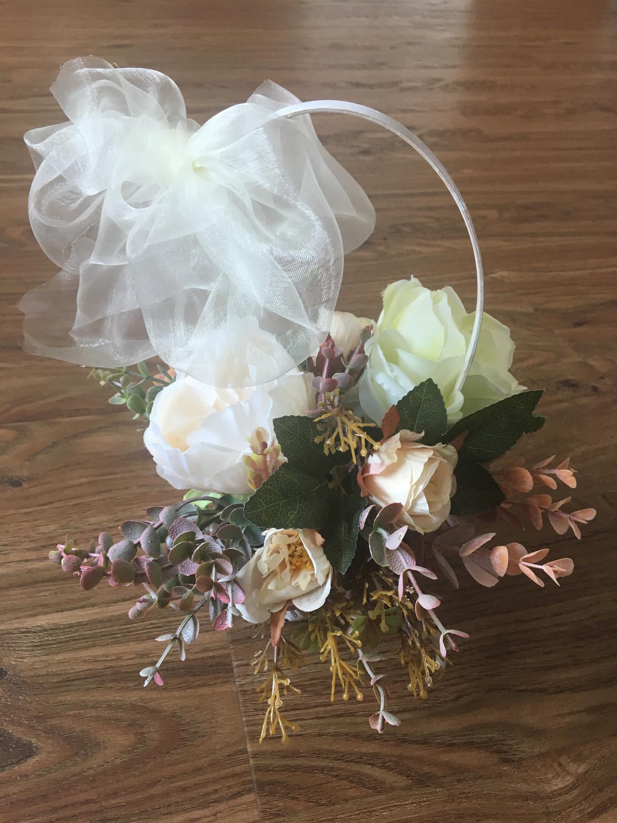 Košíčky s květinami 6ks - Obrázek č. 1