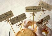 svatební rautové zápichy,