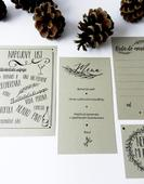 svatební menu,