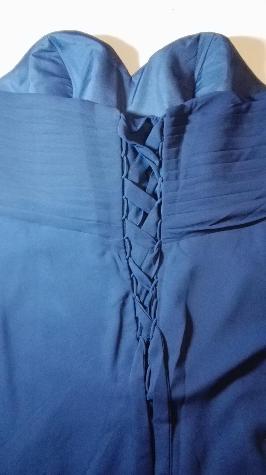 Spoločenské šaty veľkosť 50-52 - Obrázok č. 4