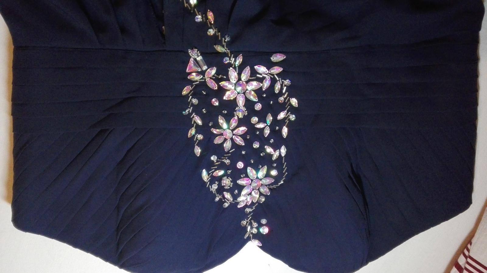 Spoločenské šaty veľkosť 50-52 - Obrázok č. 1