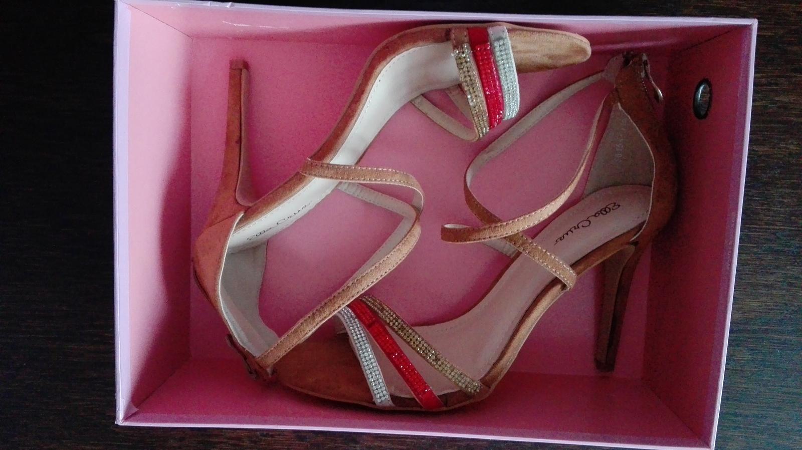 Sandále Ella Cruz - Obrázok č. 2