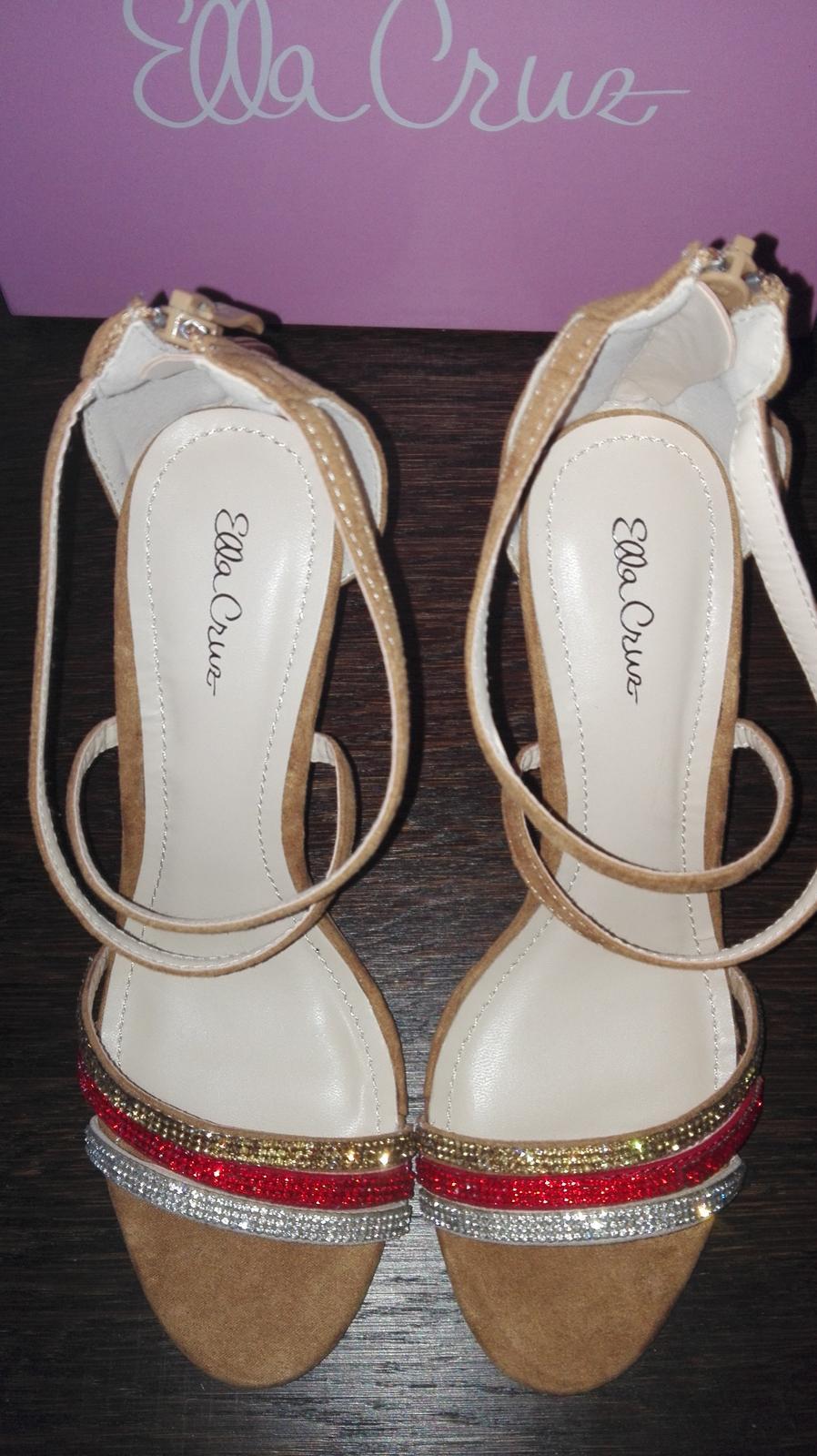Sandále Ella Cruz - Obrázok č. 3