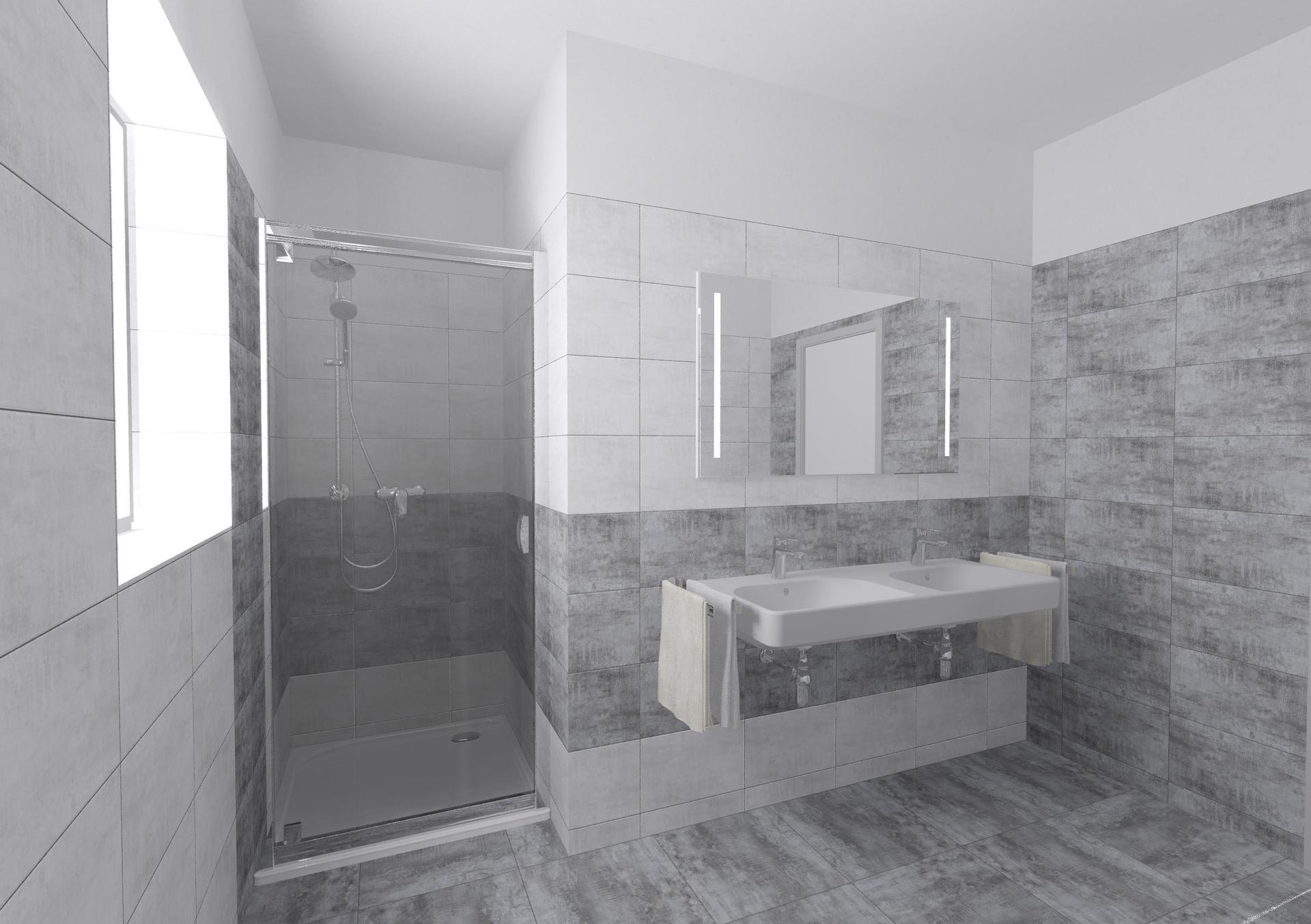 Koupelna a toaleta - návrh - Obrázek č. 4