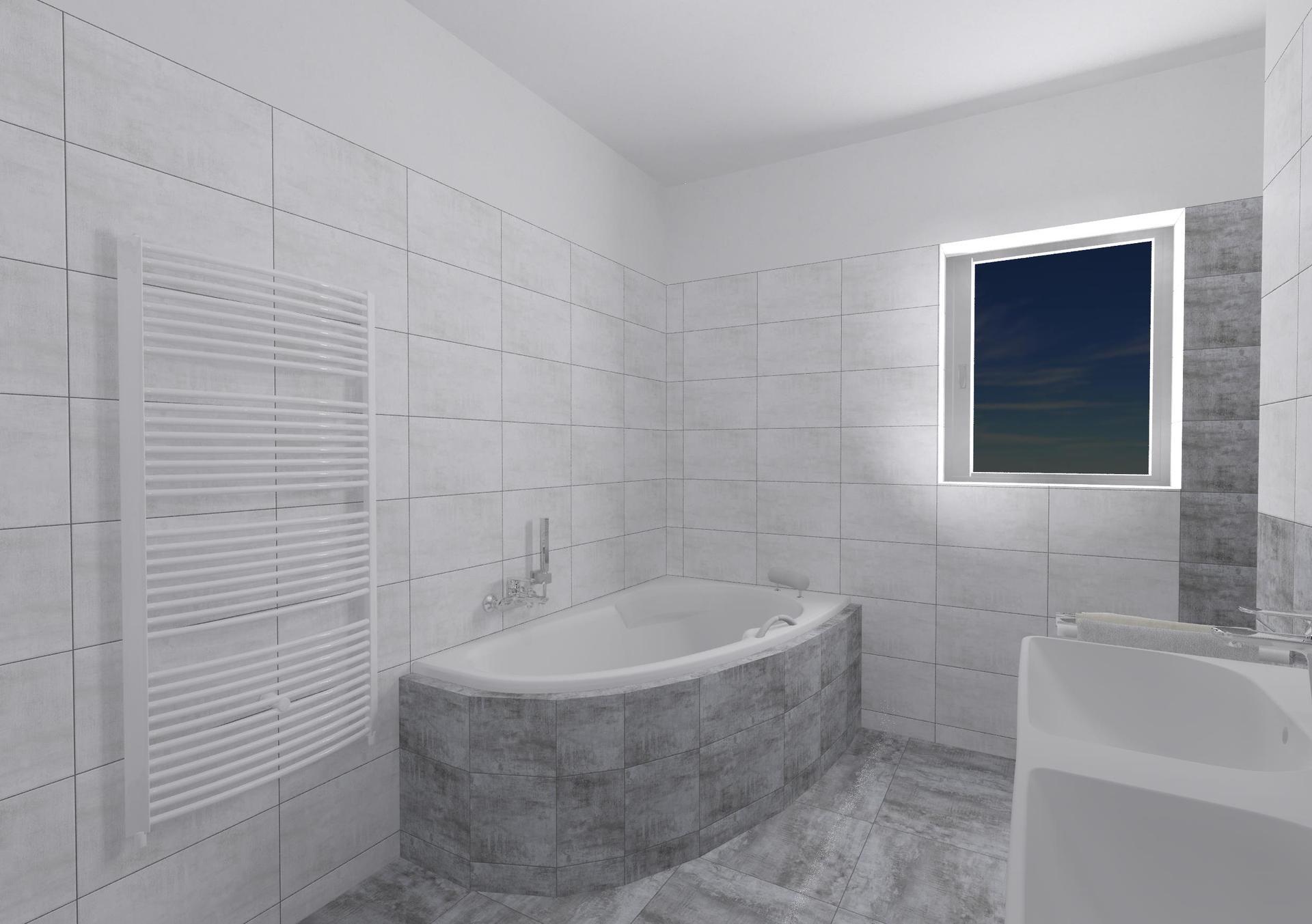 Koupelna a toaleta - návrh - Obrázek č. 5