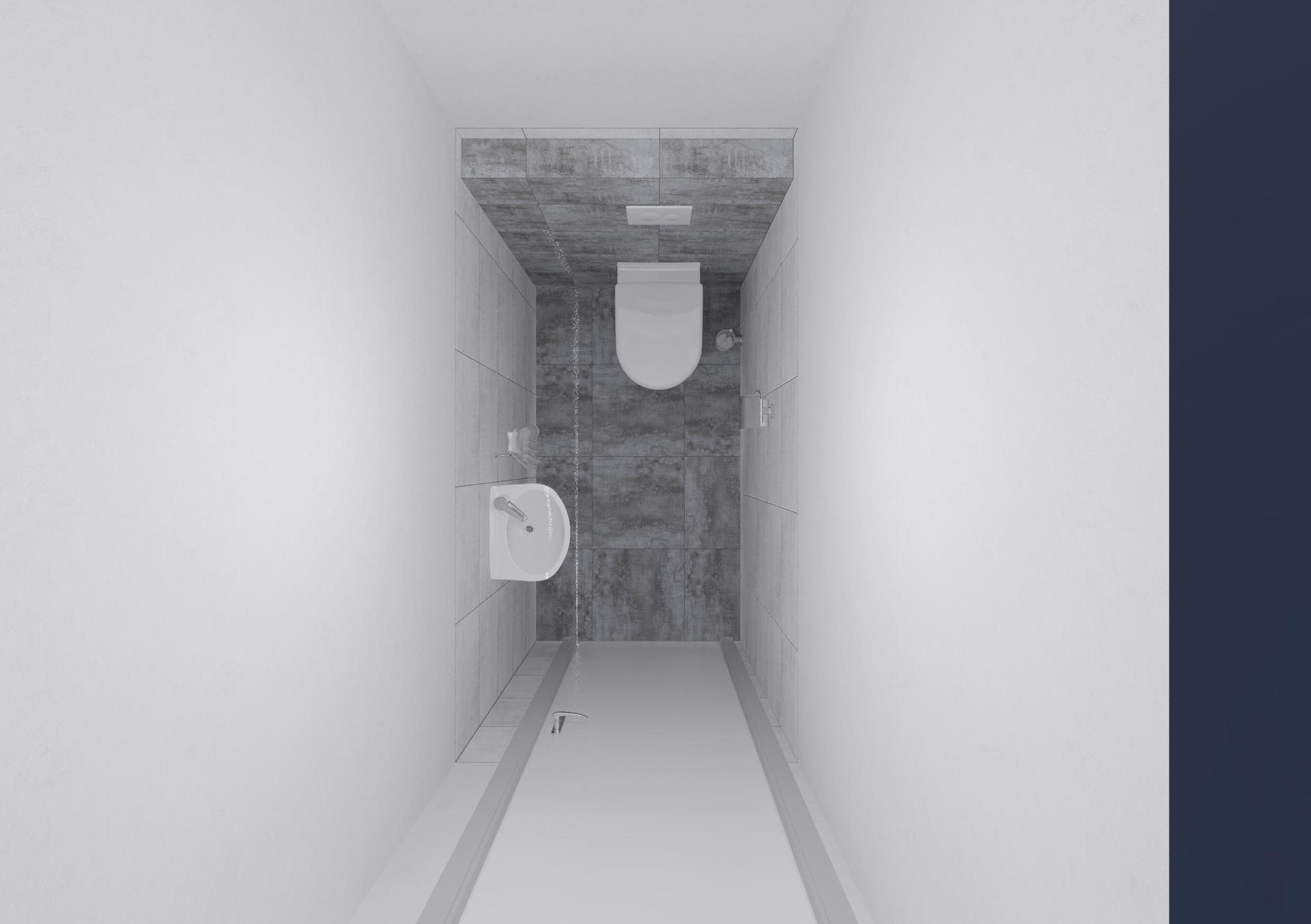 Koupelna a toaleta - návrh - Obrázek č. 6