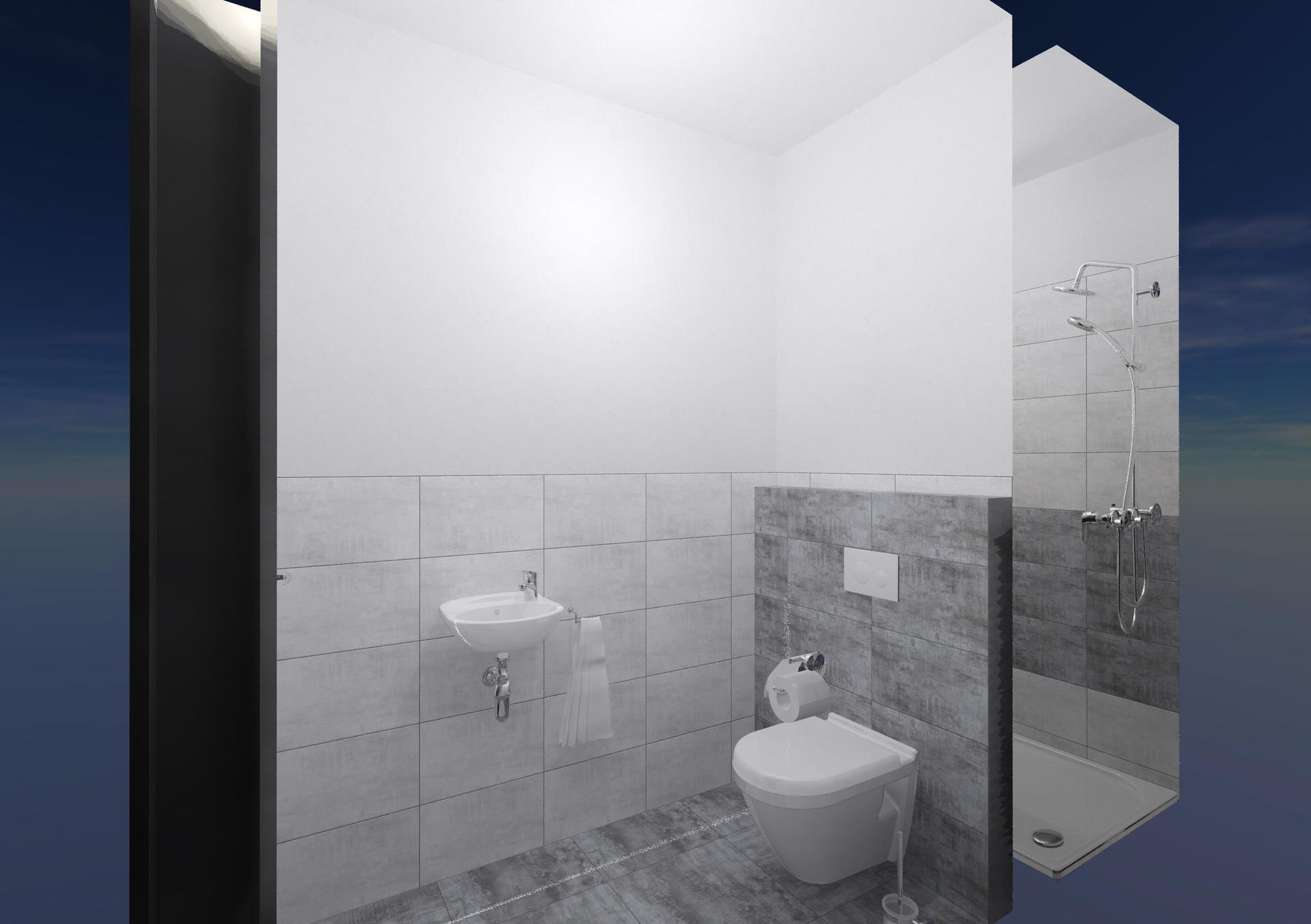 Koupelna a toaleta - návrh - Obrázek č. 7