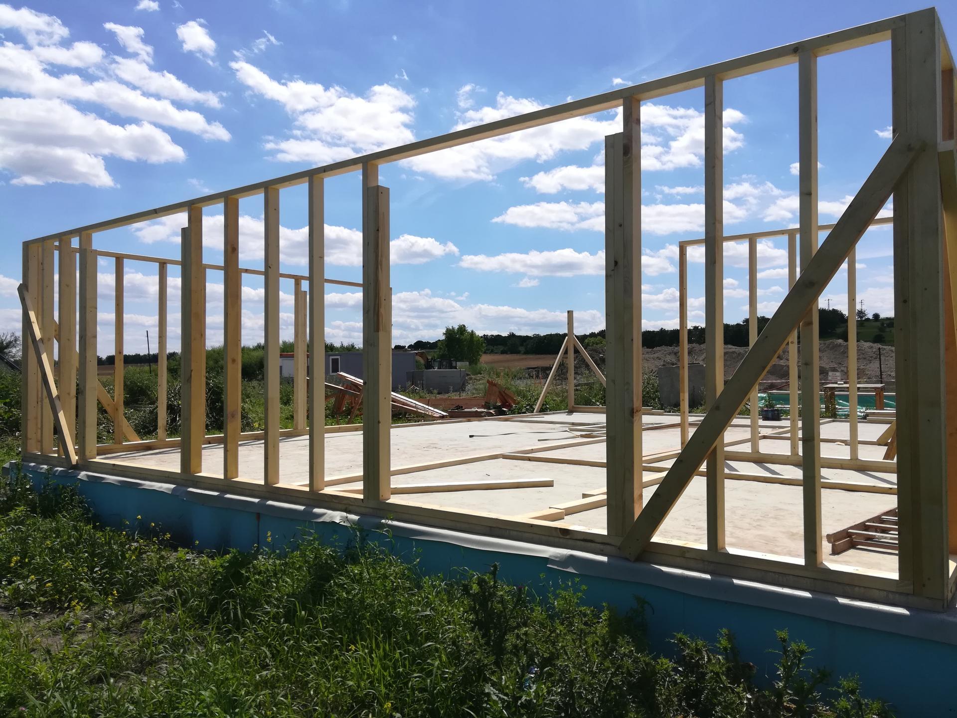 Pomalu začínáme stavět - 4.7.2020