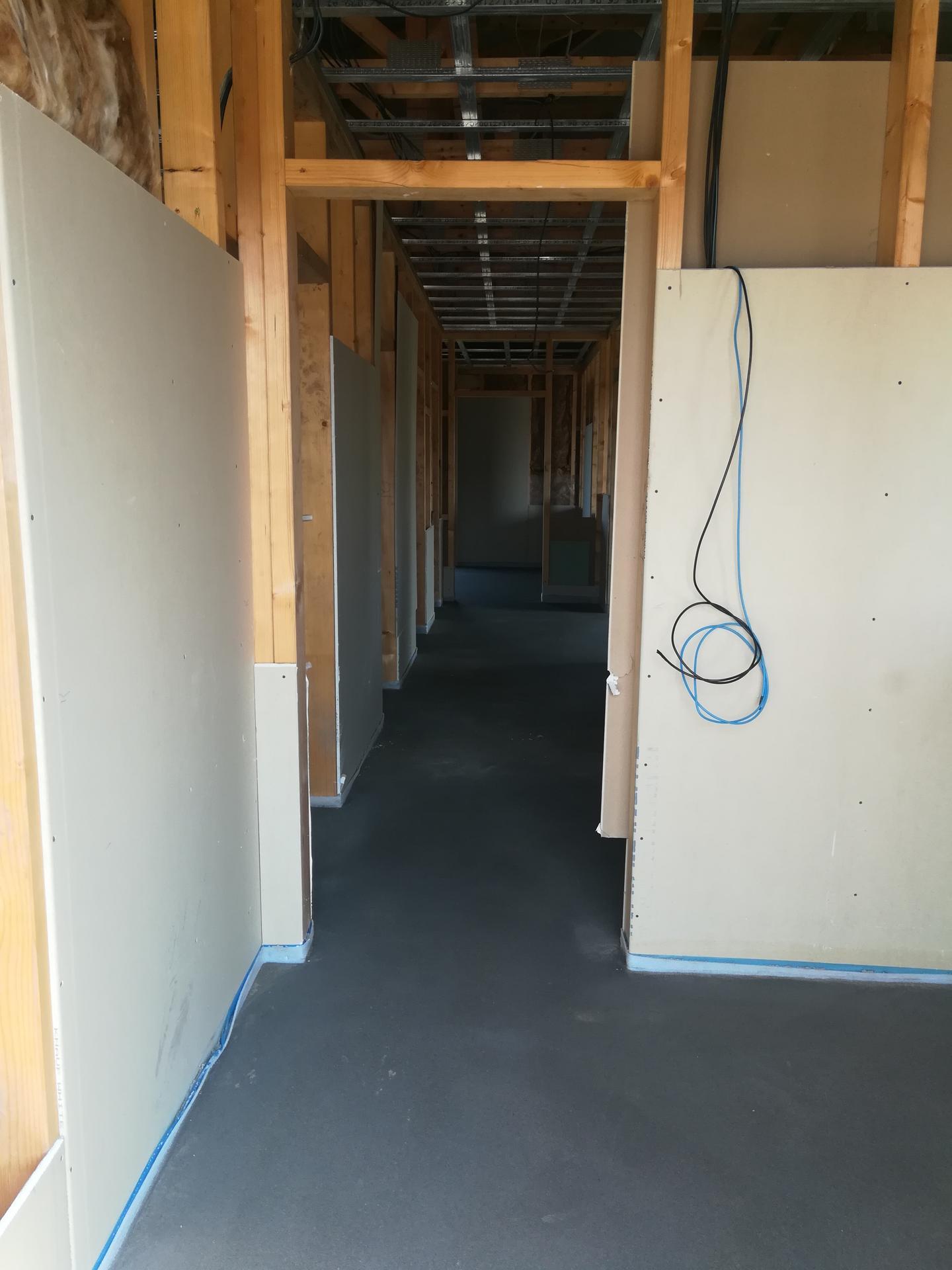 Pomalu začínáme stavět - vylití betonu