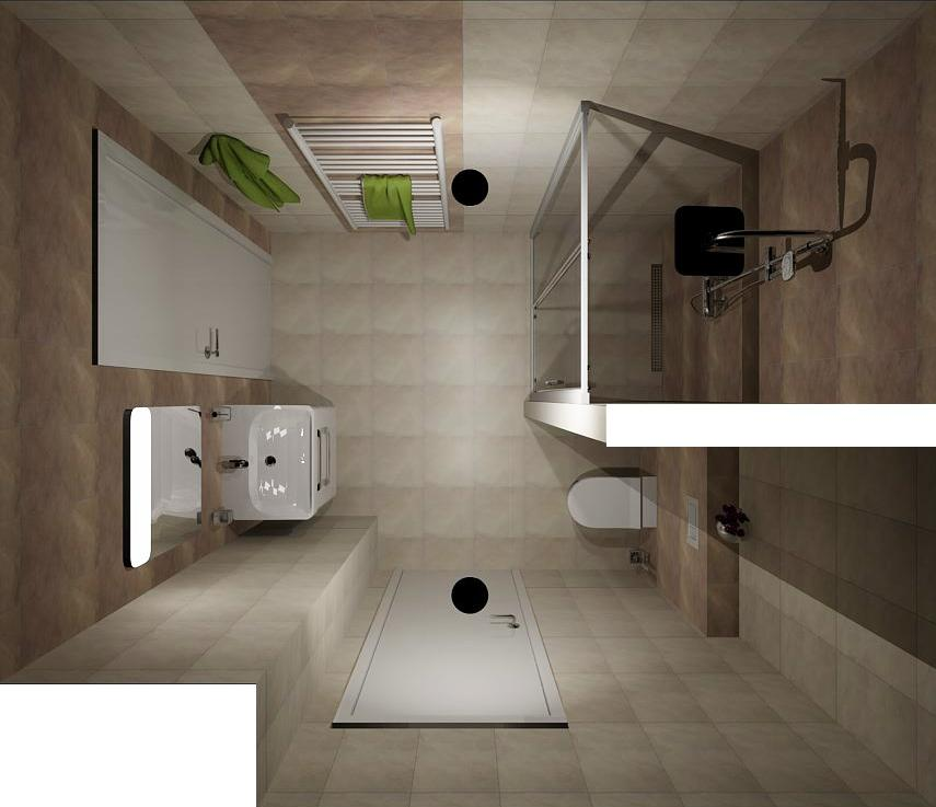 Návrh koupelny - Obrázek č. 1