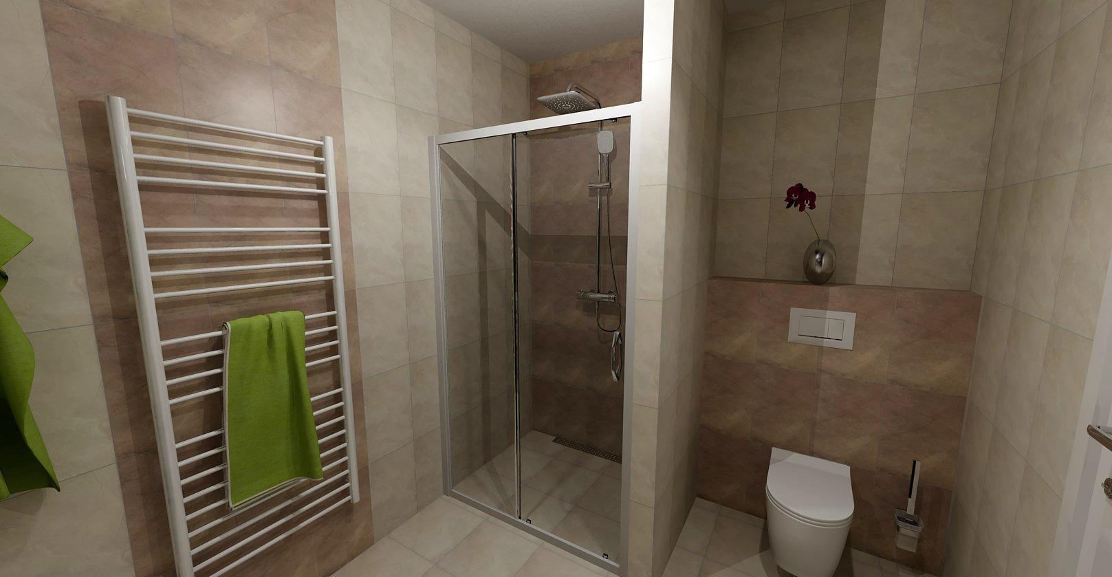 Návrh koupelny - Obrázek č. 2