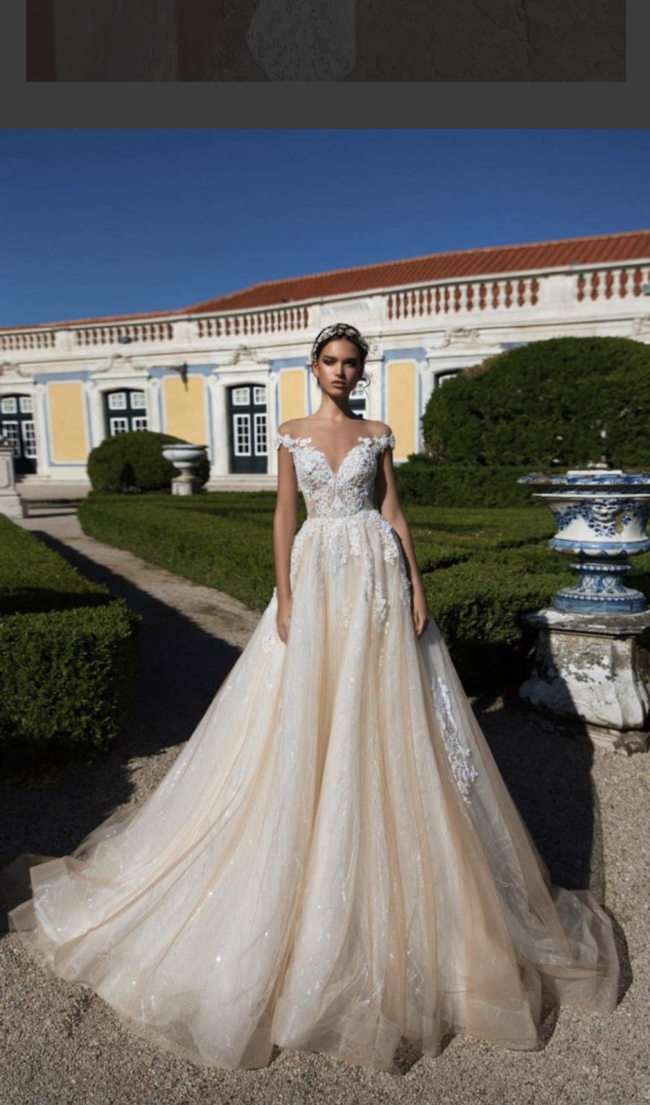 svadobné šaty MilaNova 42-46 - Obrázok č. 1