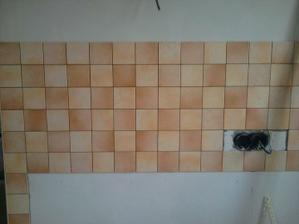 takto to vyzerá  v kuchyni