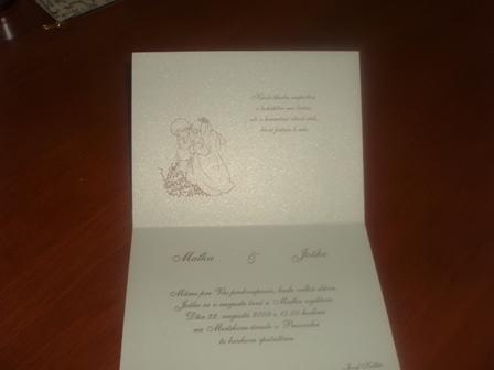 Všetko okolo svadby - naše oznámenia