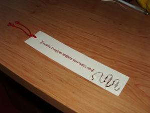 svadobná záložka darček pre hostí ešte sa upraví a bude to super
