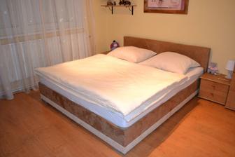 Naše nová postel